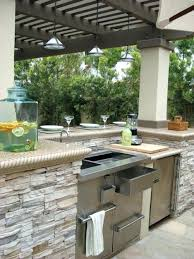 outdoor kitchen fridge large size of barbecue island round sink portable rv drain frid