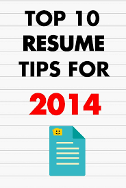 10 Tips For Good Resume Writing Proyectoportal Com