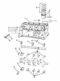 mercruiser 3 0l gm 181 i l4 1987 1989 cylinder block piston engine section