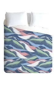 deny designs duvet image of deny designs mount queen duvet cover blue deny designs duvet