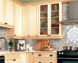 maple kitchen cabinets backsplash. Natural Maple Cabinets With Granite Wonderful Light Kitchen For Your Home Designs Adorn Pendant . Backsplash L