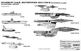 Enterprise Size Comparison Chart Starship Enterprise Size Comparison Chart Star Trek Star