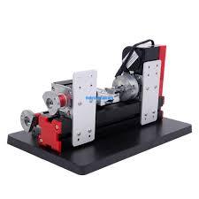 3 of 7 diy mini metal motorized lathe machine woodworking power tool model making