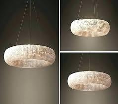crystal halo chandelier matte natural restoration hardware regarding shades ob gallery restoration hardware chandelier