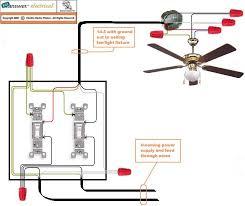 installing ceiling fan wiring