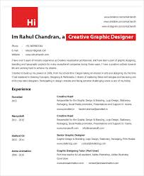 Sample Graphic Designer Resume 9 Examples In Word Pdf Simple Format