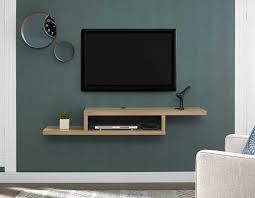 floating tv unit wall mount tv shelf