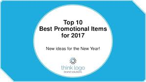 Top Promotional Top 10 Best Promotional Items For 2017