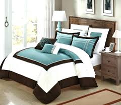 teal and brown comforter brown comforter teal and brown also white bedding set added brown