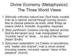 neo scholastic economics economic policy and catholic social slide27