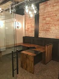 custom office desks. Slidng Glass Door With Custom Office Desk Desks