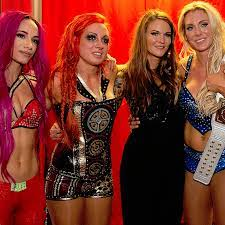Many of those matches were memorable. Charlotte Flair Becky Lynch Sasha Banks And Lita By Wwe Womens02 On Deviantart