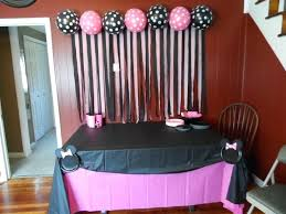 diy minnie mouse birthday party favors food tent cards ideas