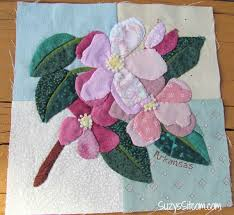 State Flower Applique Quilt and an exciting opportunity to help ... & state flowers applique pattern Adamdwight.com