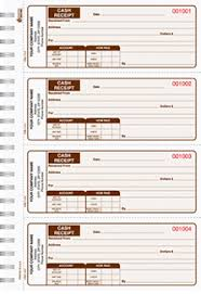 cash invoices business forms and checks cash receipt numbering custom or