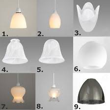 simple white frosted glass ball pendant. Set Of 3 Glass Ceiling Shades Replacement Frosted Acid Etched Dome Scallop Lamp Simple White Ball Pendant