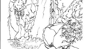 Nature Scene Coloring Pages Nature Coloring Pages Nature Scene