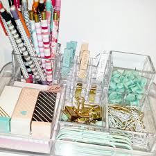 my desk organization acrylic organizer target dollar spot homesense marshalls