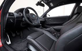 2012-BMW-1-Series-M-Coupe-interior-view - Motor Trend