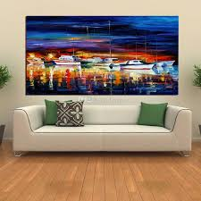 2019 Wholesales Beatiful Canvas Decoration Painting <b>100</b>% <b>Hand</b> ...