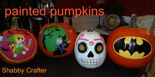 How to paint Halloween pumpkins - YouTube
