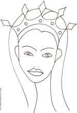Disegni Di Principesse Da Colorare Cose Per Crescere