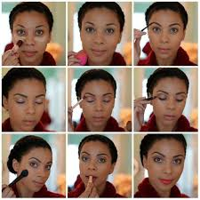 natural makeup for dark skin graduation looks by makeup tutorials by