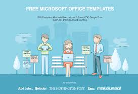 Microsoft Office Templates Invoices Free Microsoft Office Templates Hloom