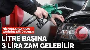 Benzin ve motorine zam geldi! İşte benzin, mazot, otogaz güncel fiyatlar
