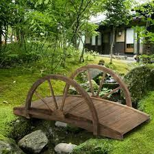 outsunny fir wood outdoor garden décor