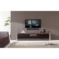 Ayla Light Walnut Stainless Steel Ir Compatible Tv Stand Ayla Light Walnut Stainless Steel Ir Compatible Tv Stand