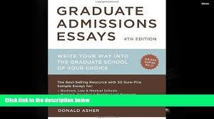 graduate admissions essays law school admission essay samples  popular book graduate admissions essays fourth edition write 00 16