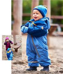 Color Kids Selby Baby Schneeanzug Skianzug - Blue