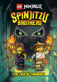 Spinjitzu Brothers #2: The Lair of Tanabrax (LEGO Ninjago) (A Stepping  Stone Book(TM)): West, Tracey: 9780593381434: Amazon.com: Books