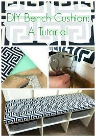 diy seat cushion how to make a quick and easy box cushion bench window and