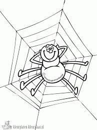 Spin Kleurplaat