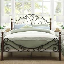 Image of: Wrought Iron Bed Farmhouse