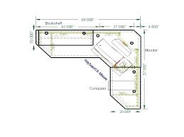 l shaped desk plans. Wonderful Plans Lovely L Shaped Desk Plans Design Computer   On L Shaped Desk Plans S