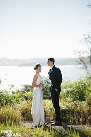 Lovely bride and groom, just married at their Sydney wedding. On location  at Q