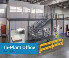 warehouse mezzanine modular office. Cogan In-Plant Office Mezzanine Warehouse Modular M