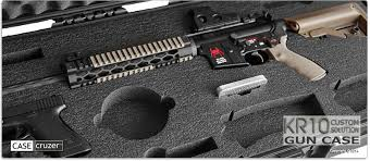 Kr10 Custom Gun Case Solutions By Casecruzer
