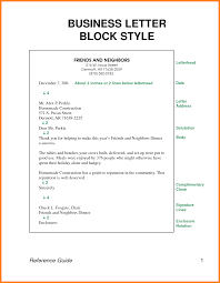 8 Block Style Business Letter Spacing Attorney Letterheads
