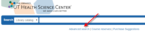 library catalog finding theses dissertations and dnps  once in the catalog go to advanced search