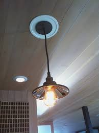 how to change recessed lighting pendant bright convert