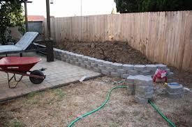home depot landscaping blocks luxury building a retaining wall pt2 old paint design