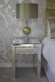 mirrored venetian single drawer bedside table mirrored venetian single drawer bedside table