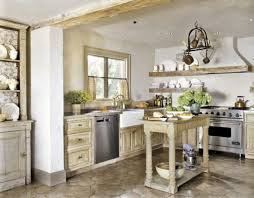 Small White Corner Kitchen Design French Country Kitchen Designs