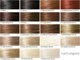 Copper Brown Hair Color Chart Organic Hair Colours Are The Beauty Secret That Saves You