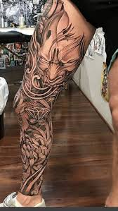 Japanese Tattoos Are Easily Recognized Since They Are Large And