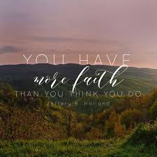 Quotes About Faith Awesome 48 Best Yw Ideas Images On Pinterest Young Women Lessons Church